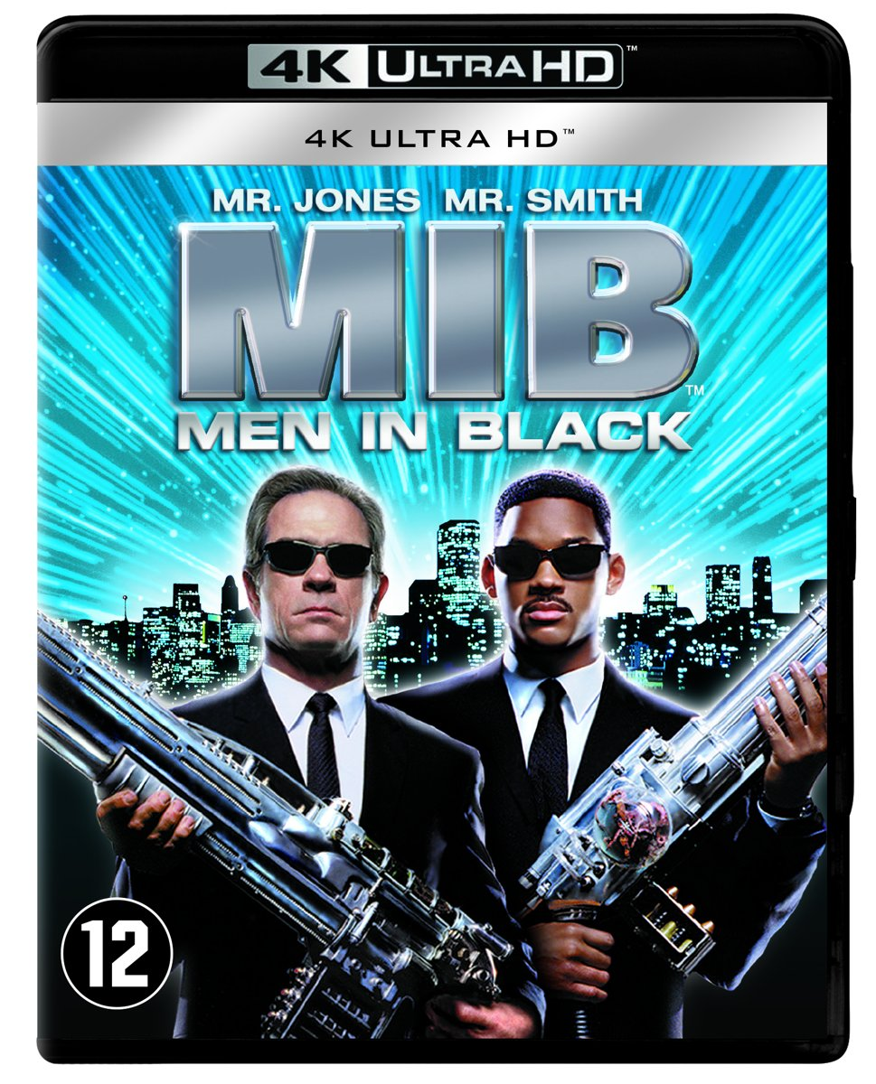 Men In Black (1997) (4K Ultra HD Blu-ray)-