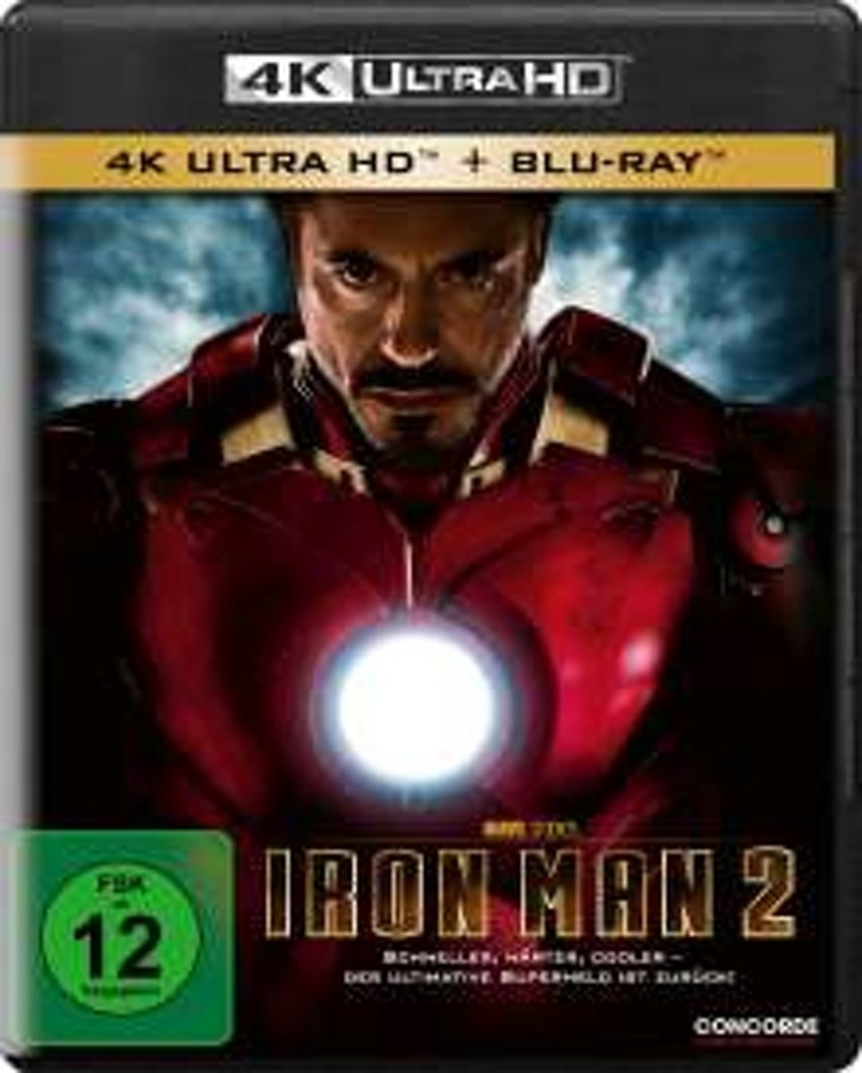 Iron Man 2 (Ultra HD Blu-ray & Blu-ray)-