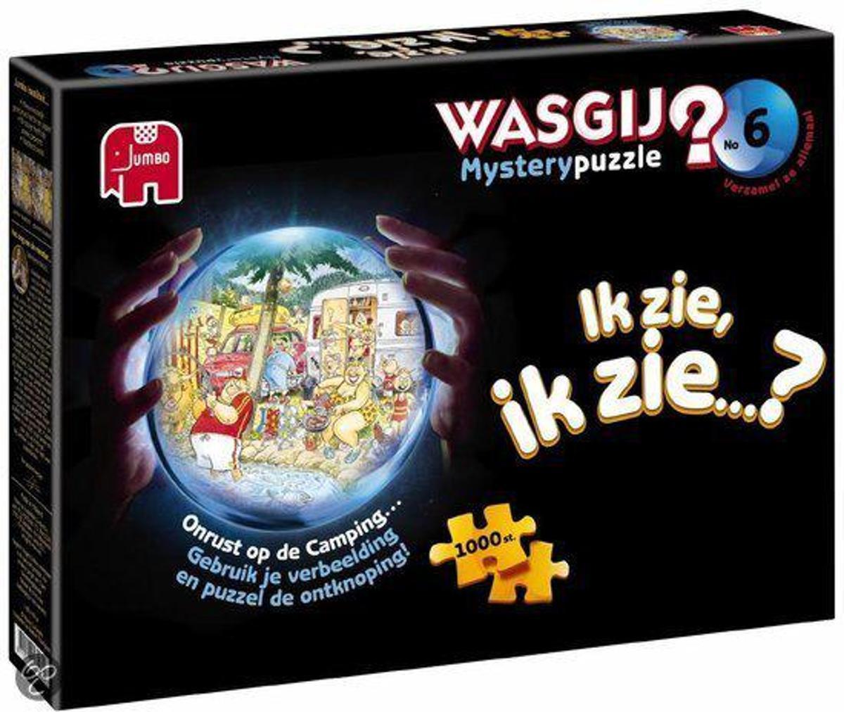 Wasgij Mystery 6 Onrust op de camping - Puzzel - 1000 stukjes kopen
