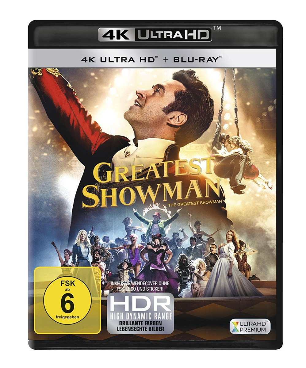 The Greatest Showman (Ultra HD Blu-ray & Blu-ray)-