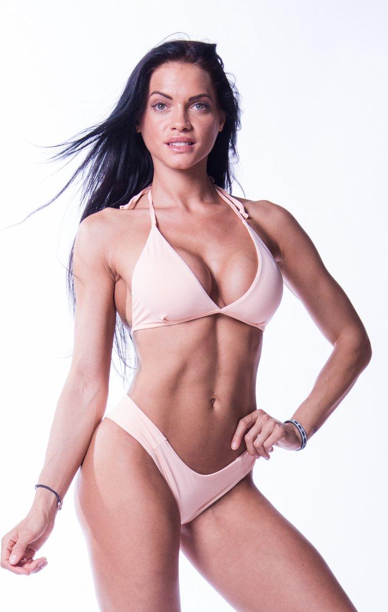 Bikini Top Zalm Nebbia 631