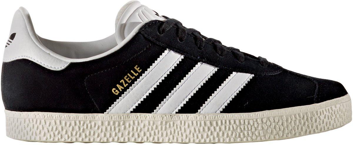 47e7ea72668 bol.com   Adidas Meisjes Sneakers Gazelle J - Zwart - Maat 36