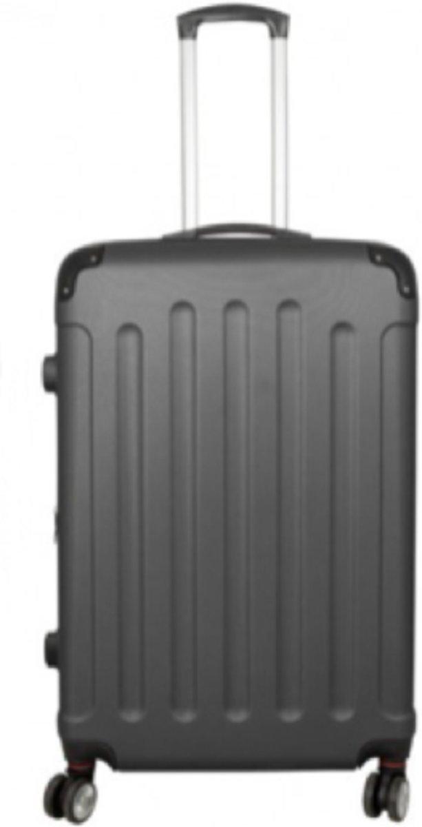 koffer travelsuitcase antraciet | 78cm kopen
