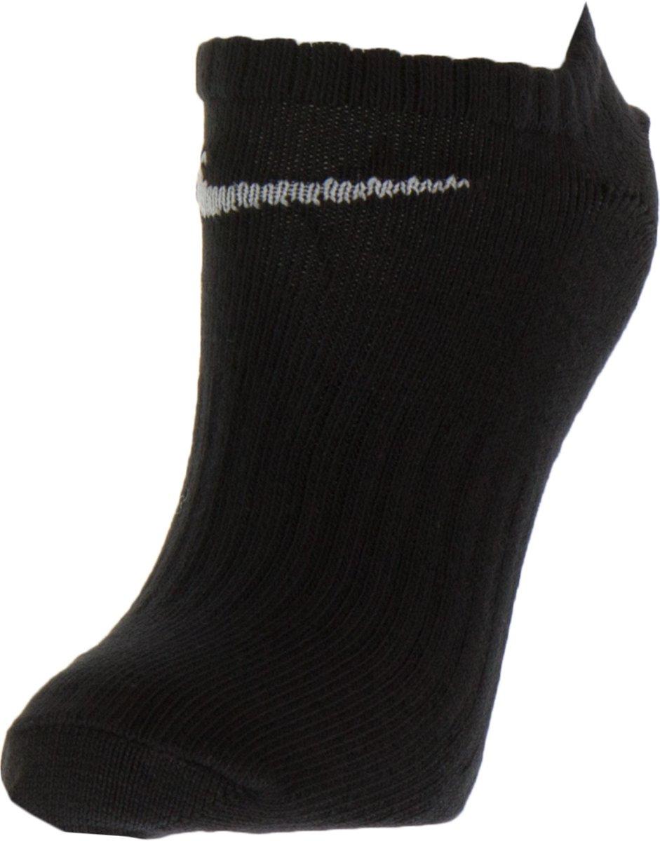 f7869d05ad9 bol.com | Nike Cotton Non-Cushion No Show Enkelsokken Sportsokken - Maat  38-41 - Unisex - zwart.