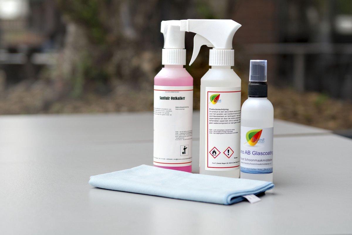 Nano Coating Badkamer : Bol nano glas coating voor douche set
