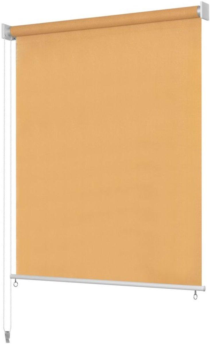 Rolgordijn voor buiten 180x140 cm beige kopen