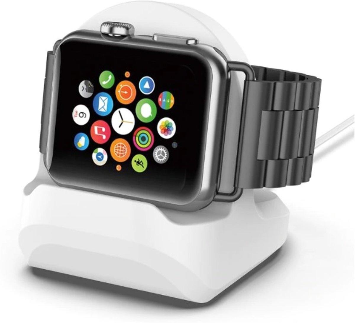 Apple Watch - Docking station - Houder - Tafelhouder - Universeel alle modellen - WIT kopen