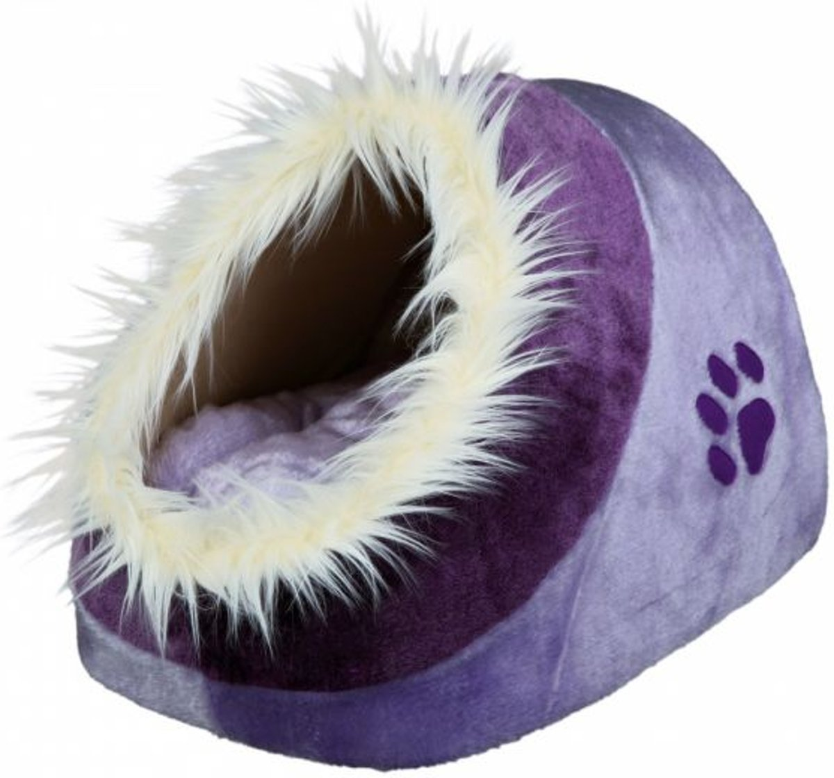 Trixie kattenmand iglo minou lila / violet 35x26x41 cm