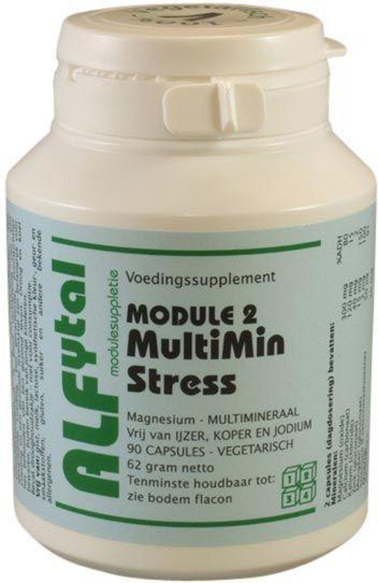 Foto van Alfytal Multimin Stress (Module 2) 90 vegicaps