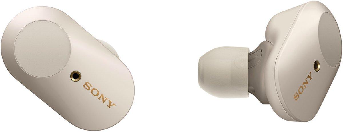 Sony WF-1000XM3 - Volledig draadloze oordopjes met Noise Cancelling - Zilvergrijs kopen