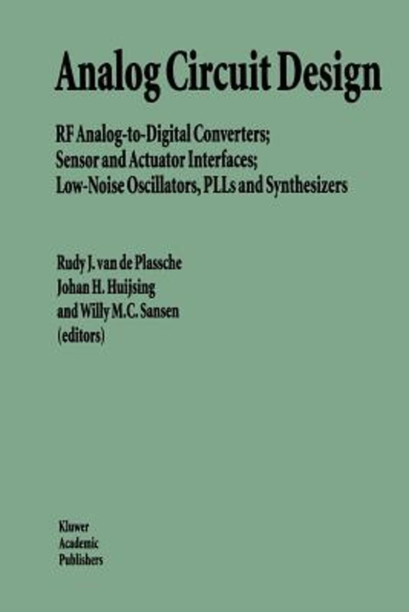 Analog Circuit Design 9781441951854 Boeken To Digital Converter