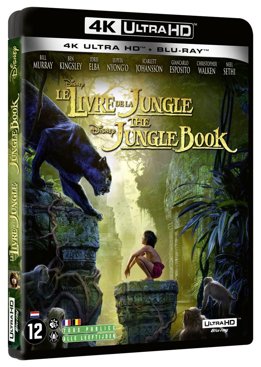 The Jungle Book (4K Ultra HD + 2D Blu-ray) (Import zonder NL)-