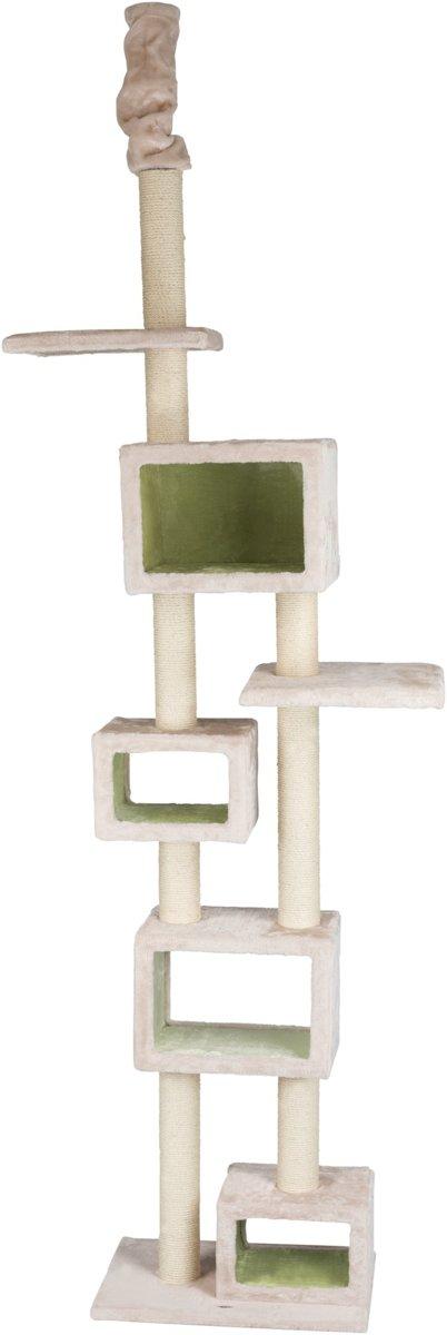 Trixie krabpaal tamaso lichtgrijs / groen 57x40x240-260 cm