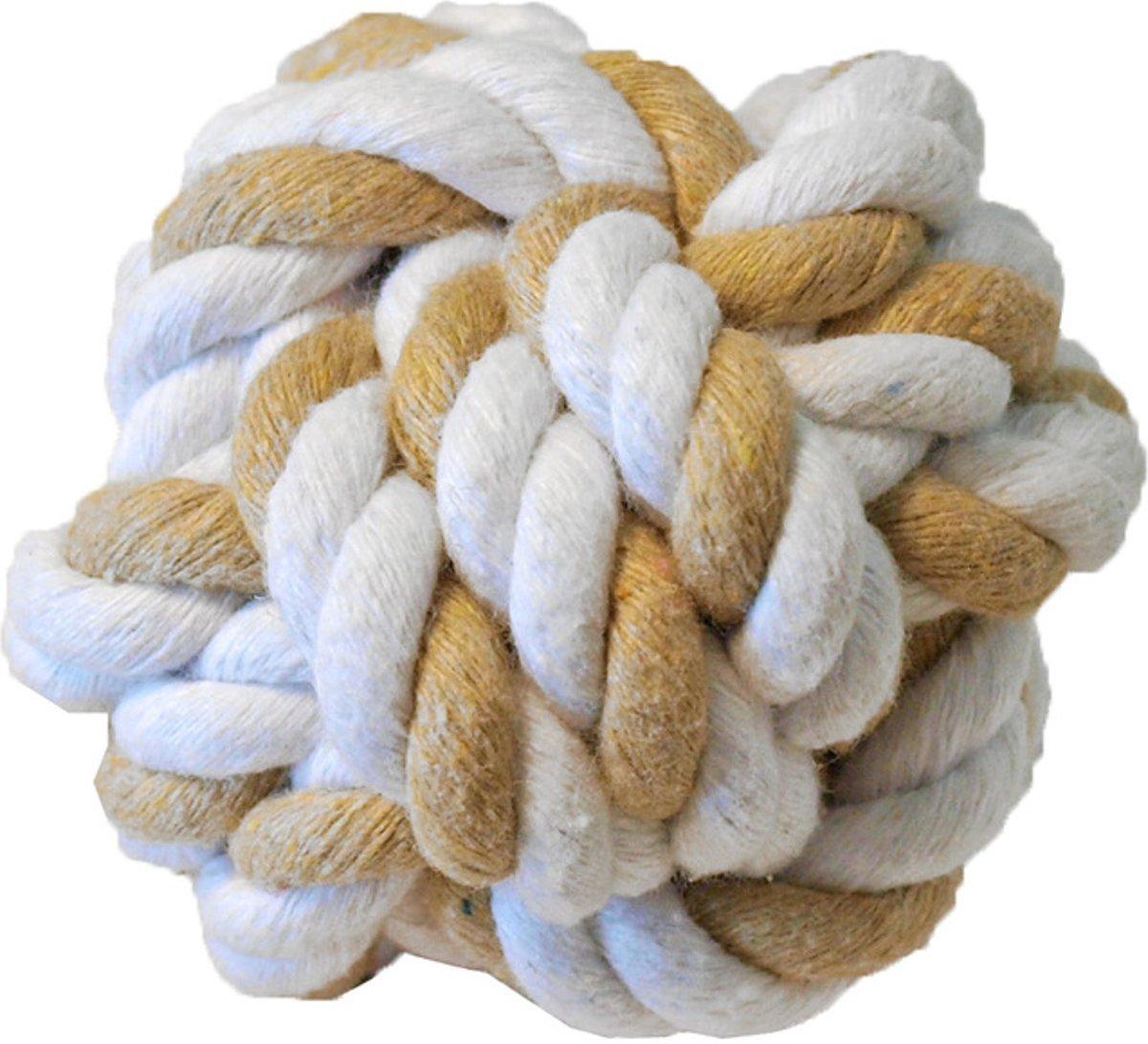 Katoenen touwbal voor knaagdieren 7,5 cm