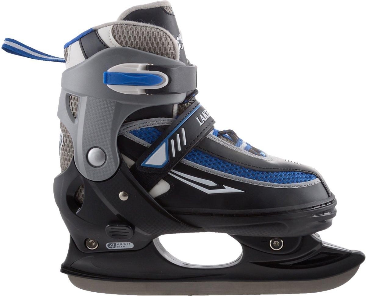 Zandstra Lake Placid Junior - IJshockeyschaats - Verstelbaar - Maat 31-34