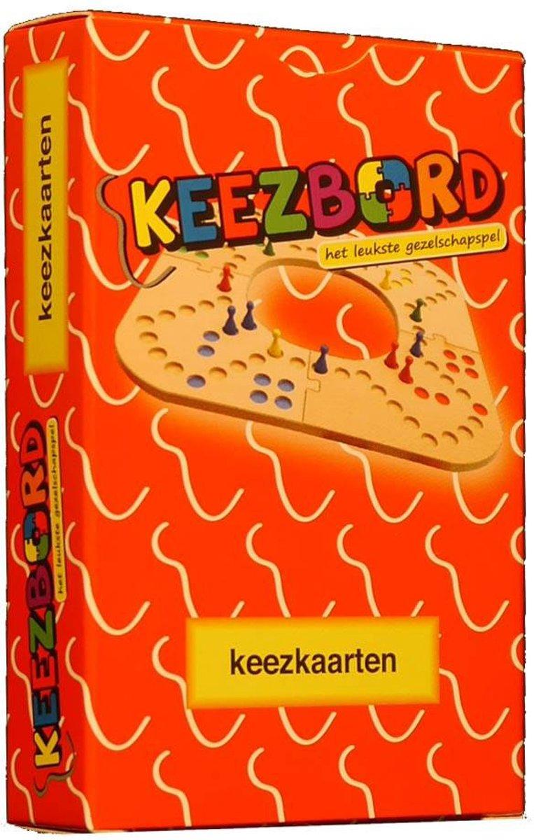 Keezbord Keezkaarten Rood