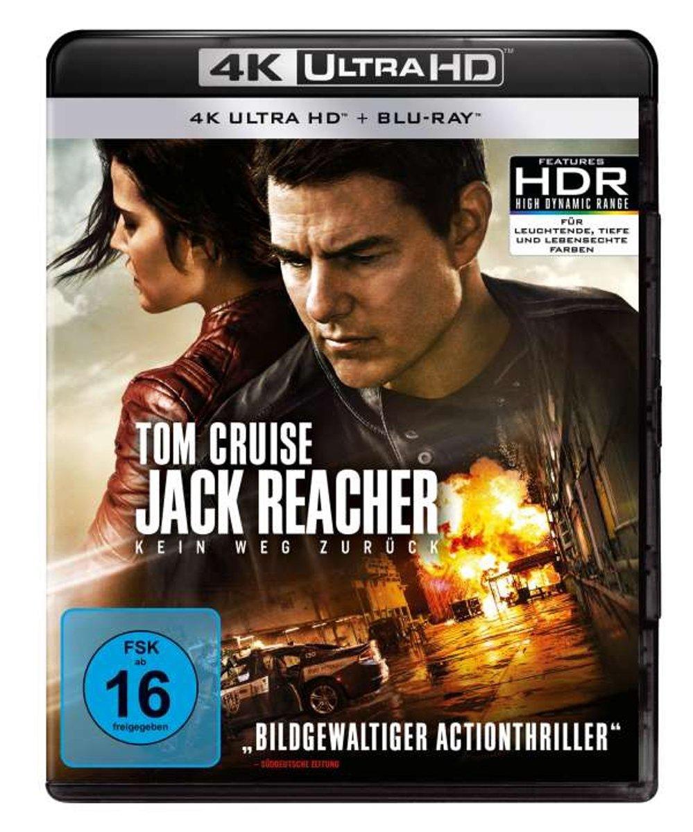 Jack Reacher: Kein Weg zurück (Ultra HD Blu-ray & Blu-ray)-