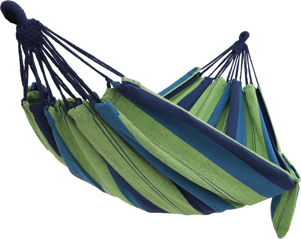 Plant&More - Hangmat - Zittend - Blauw/Groen