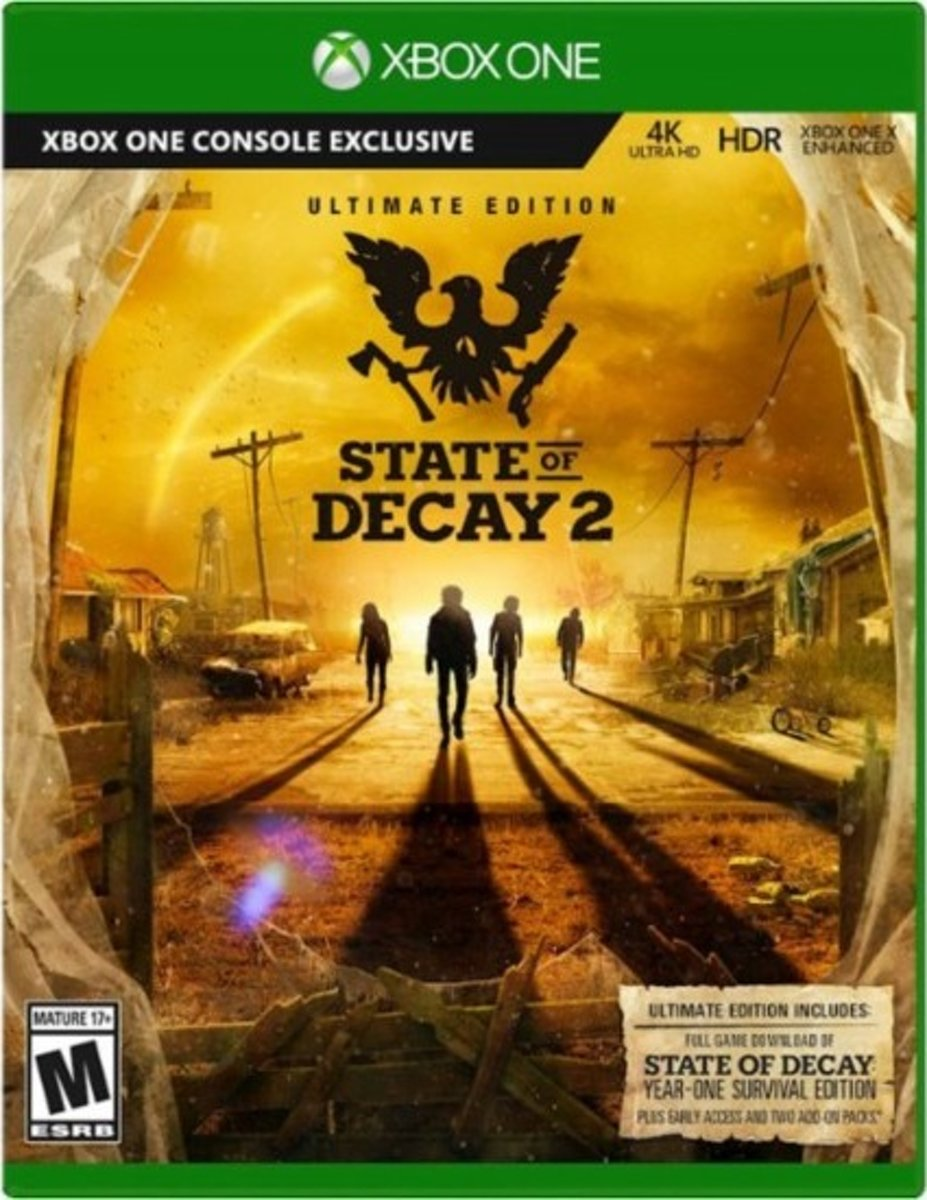 State of Decay 2 - Ultimate Edition Xbox One