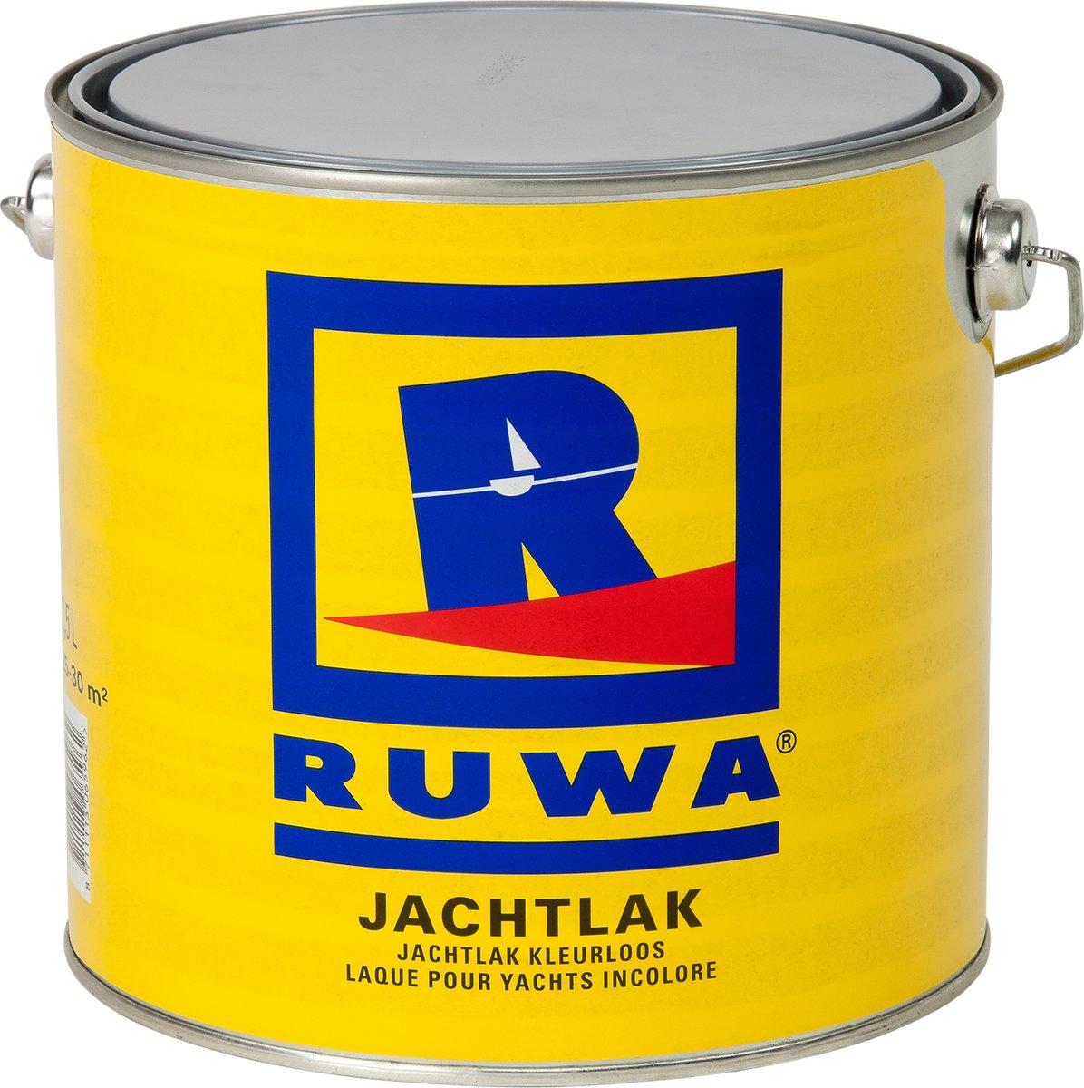 Ruwa Jachtlak Kleurloos 2,5 L