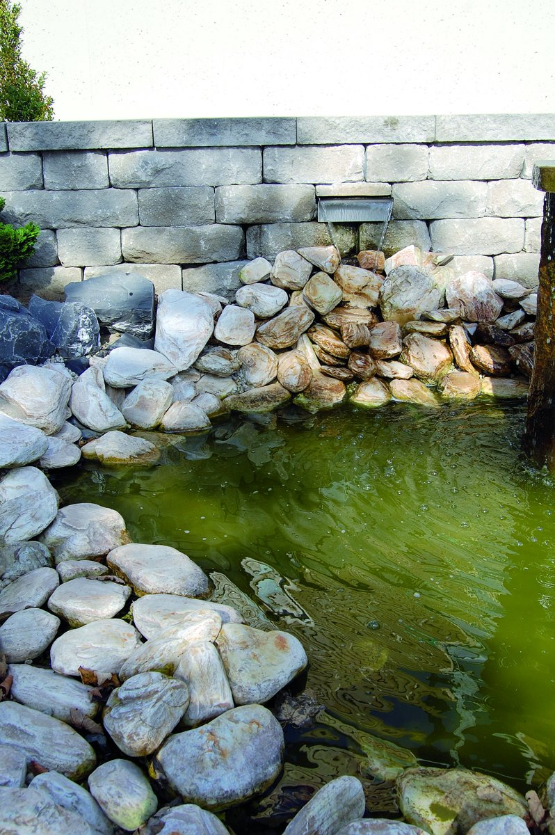 Tekening Rvs Waterval.Ubbink Niagara Rvs Waterval 90 Cm Inox 304