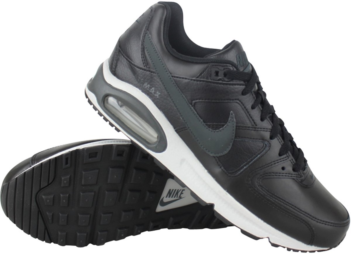 Nike Air Max Command Leather Sneakers Heren BlackAnthracite Neutral Grey