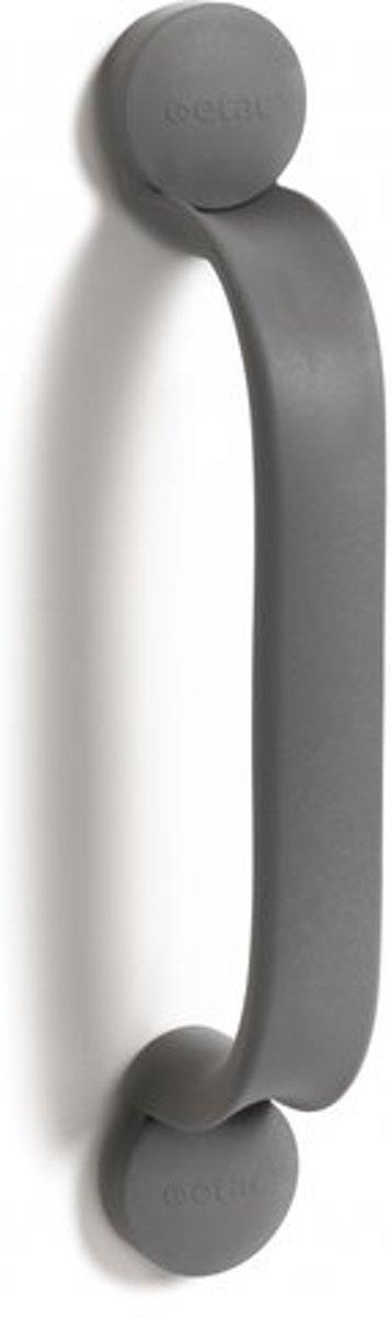 Flex wandbeugel gelijmd - grijs 30 cm - Etac kopen