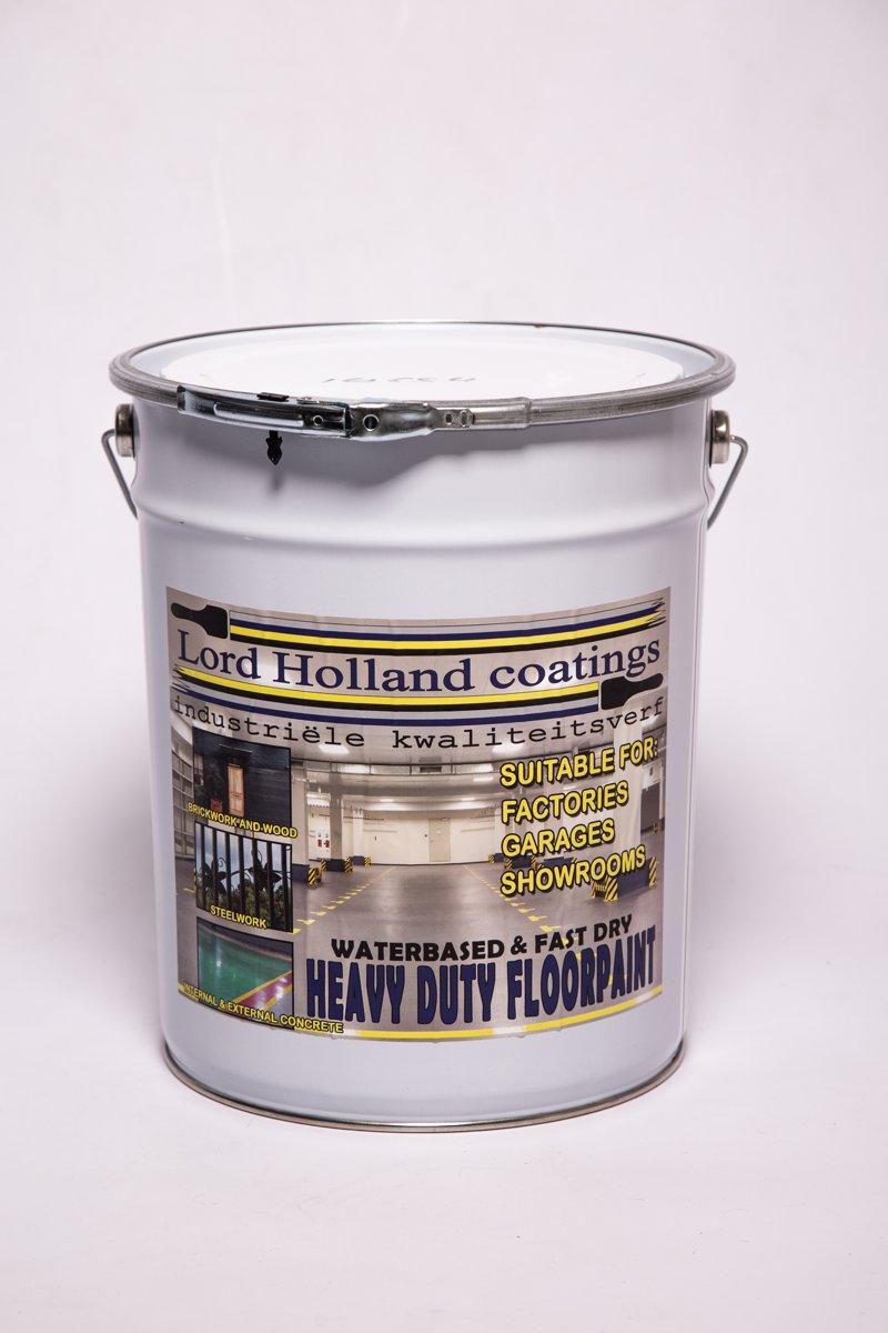 Heavy Duty Floorpaint Waterbased & Fast Dry | Vloerverf | Beton Coating | Ral 7016