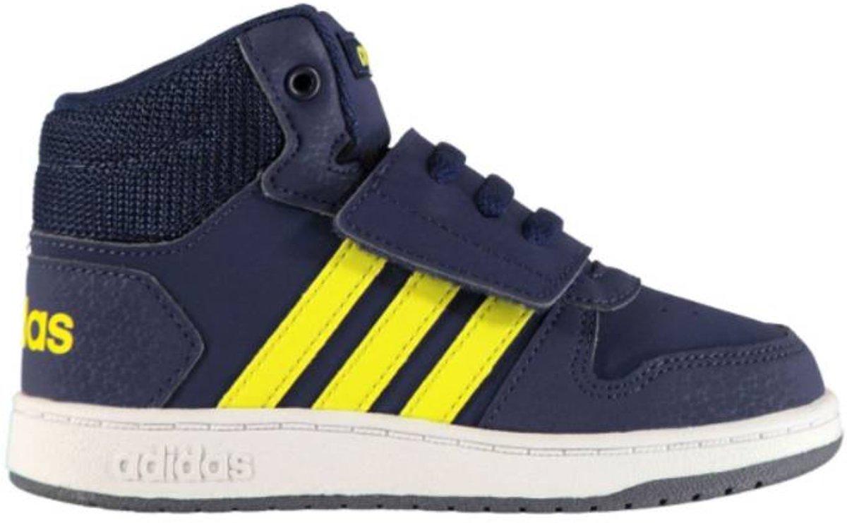 adidas Hoops Mid 2.0 Kids Sneakers Navy
