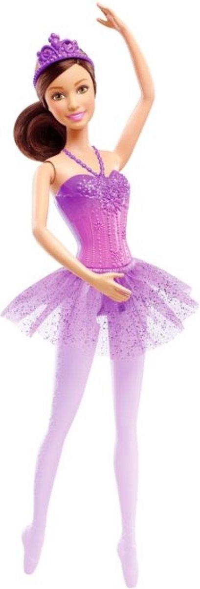 Ballerina Barbie paars