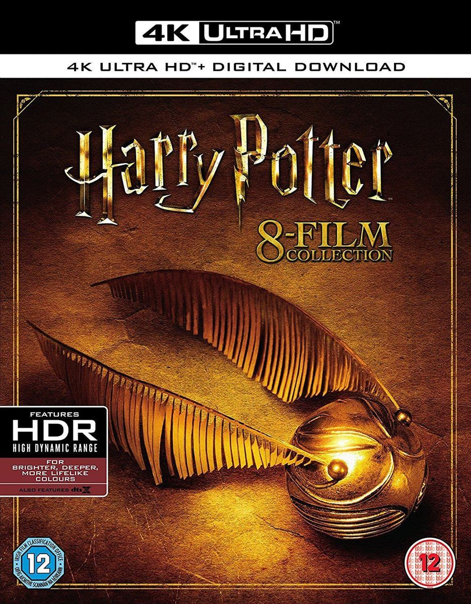 Harry Potter - Complete 8-Film Collection (4K Ultra HD Blu-ray) (Import)-
