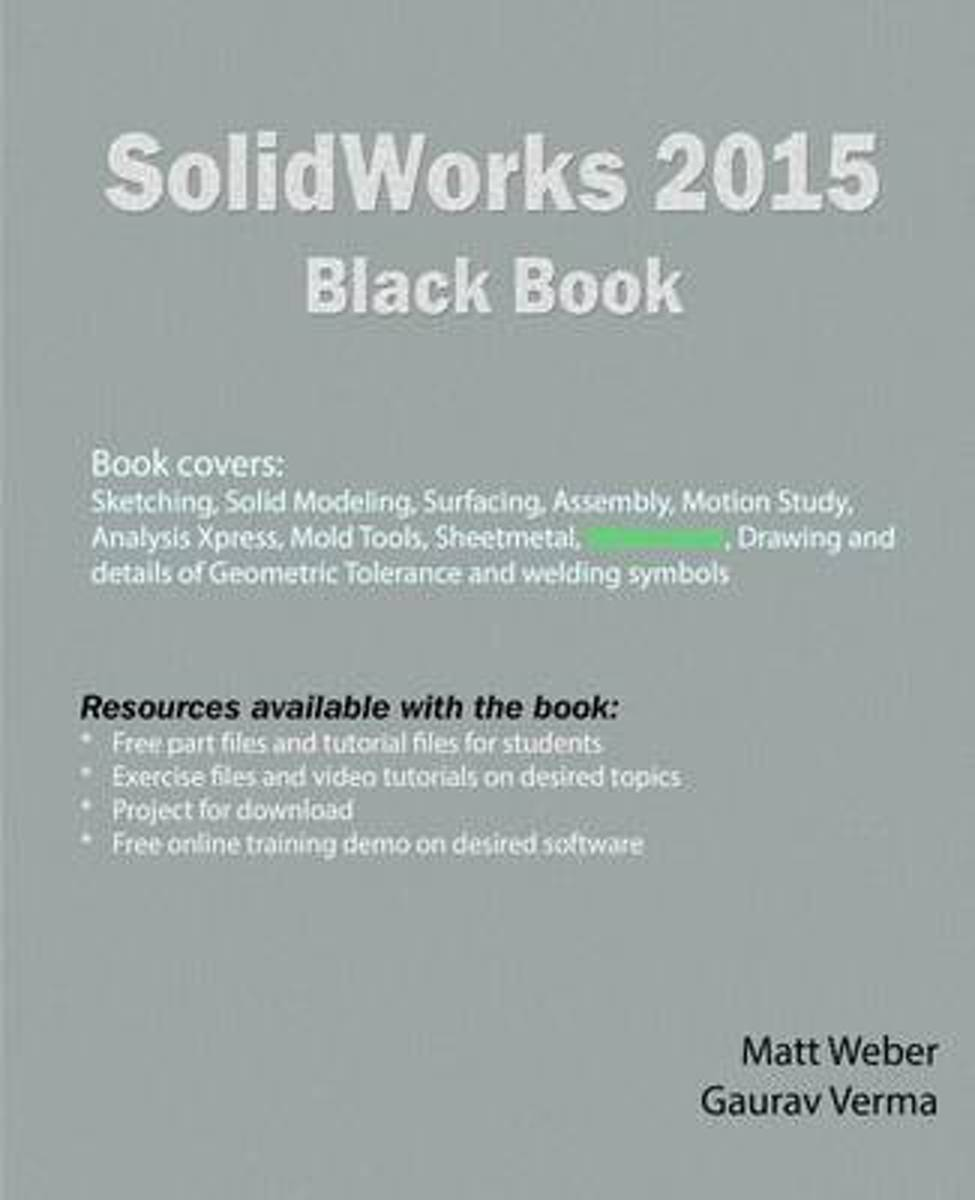Bol Com Solidworks 2015 Black Book 9781503084469 Gaurav Verma