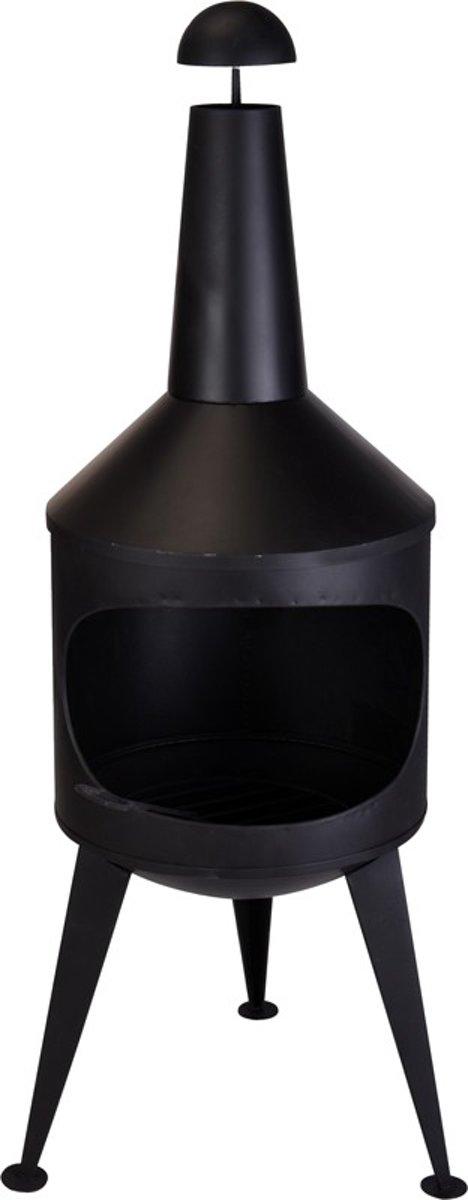 vuurkorf - terrashaard - tuinhaard - terraskachel - tuinverwarmer- 134 cm