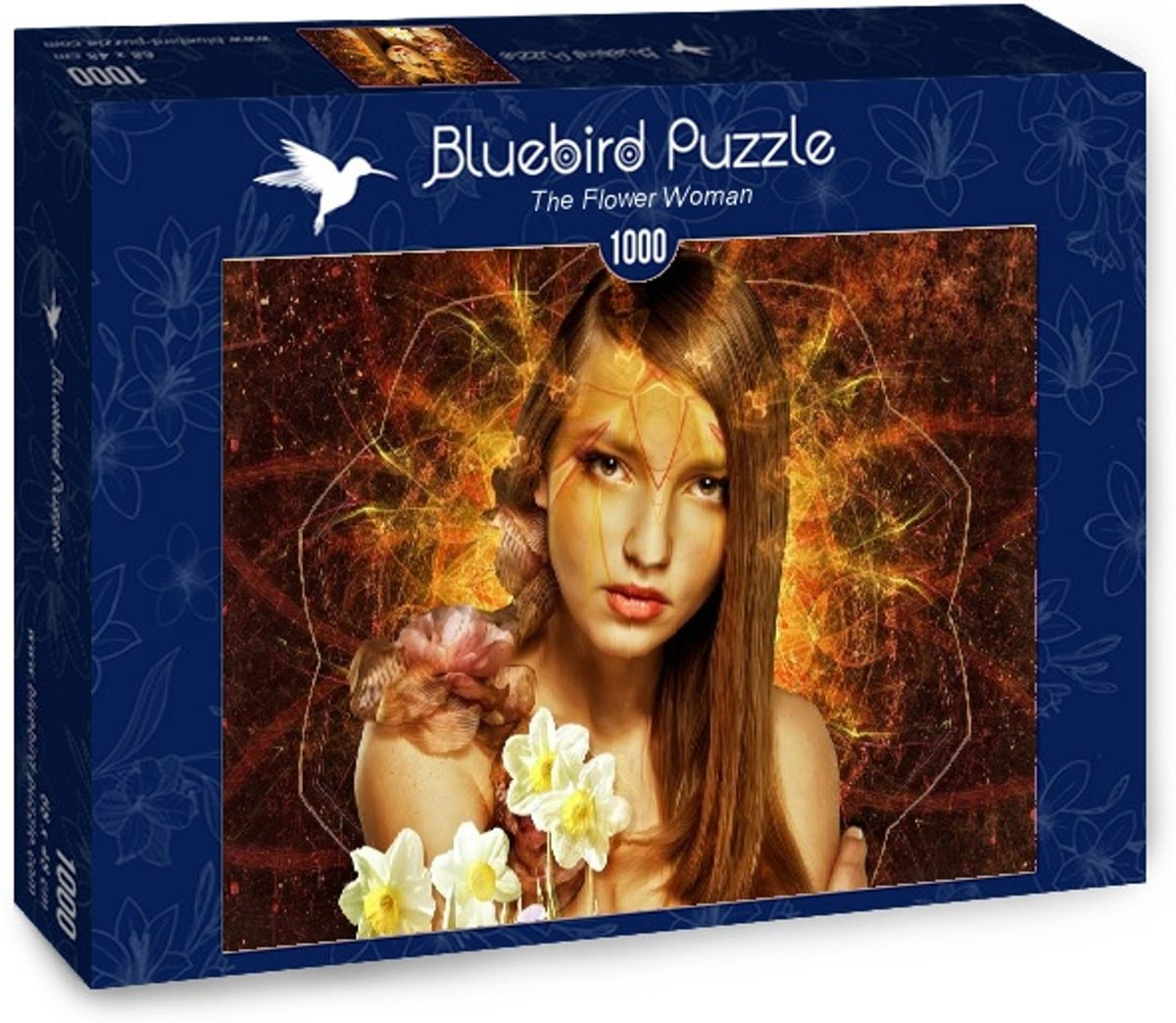 The Flower Woman legpuzzel 1000 stukjes