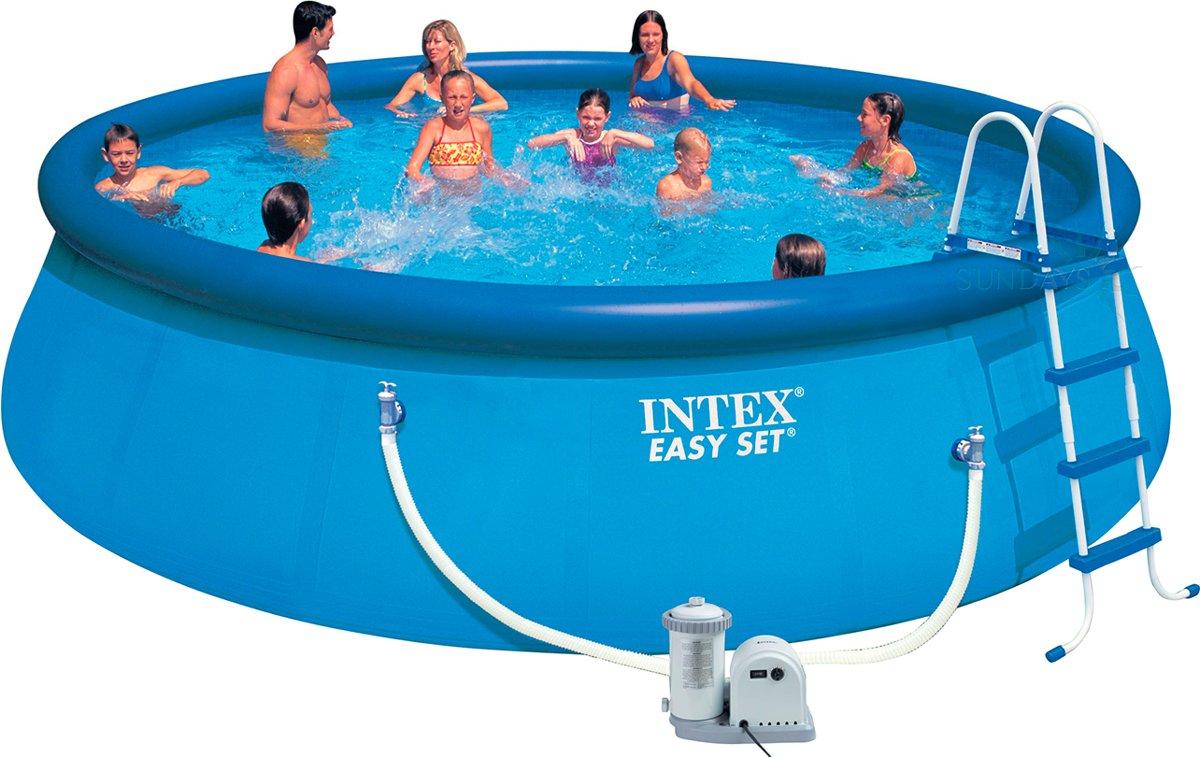 Intex Easy Set Pool Zwembad 549 x 122 cm