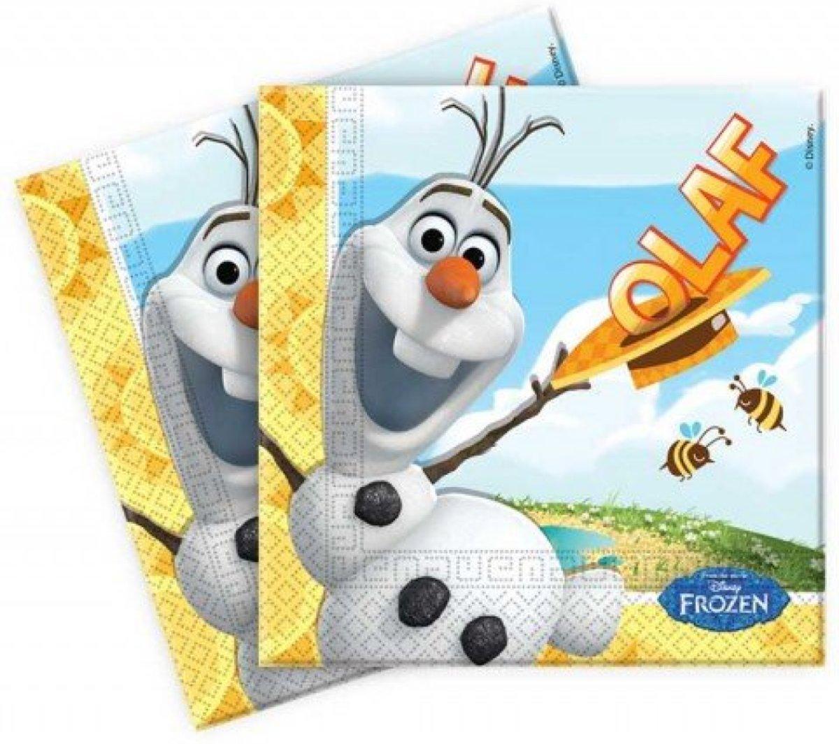 Frozen Servetten Olaf - 20 stuks