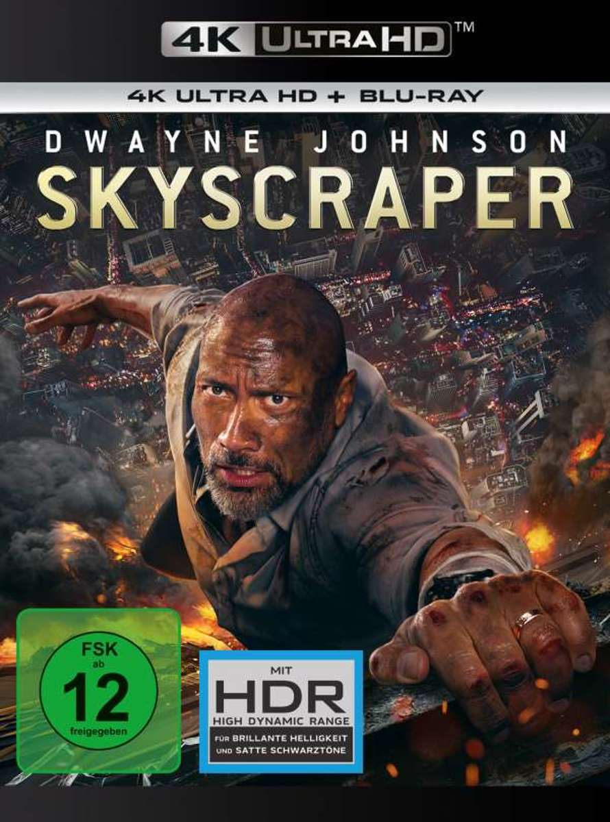 Skyscraper (Ultra HD Blu-ray & Blu-ray)-