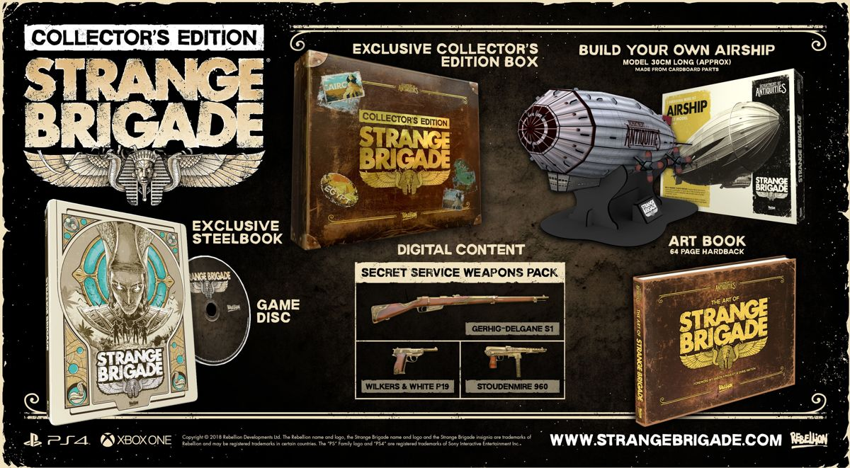 Strange Brigade Collectors Edition Xbox One