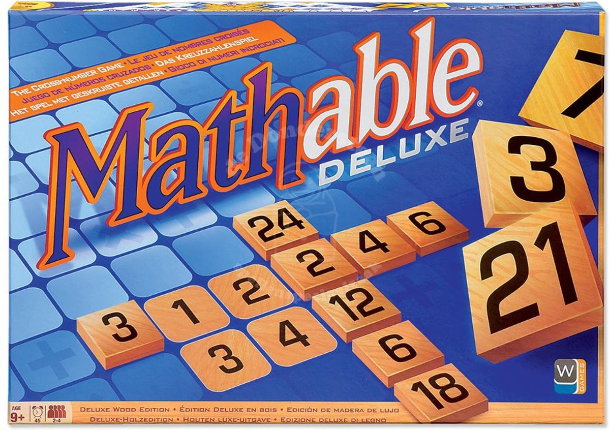 Mathable Deluxe Wood