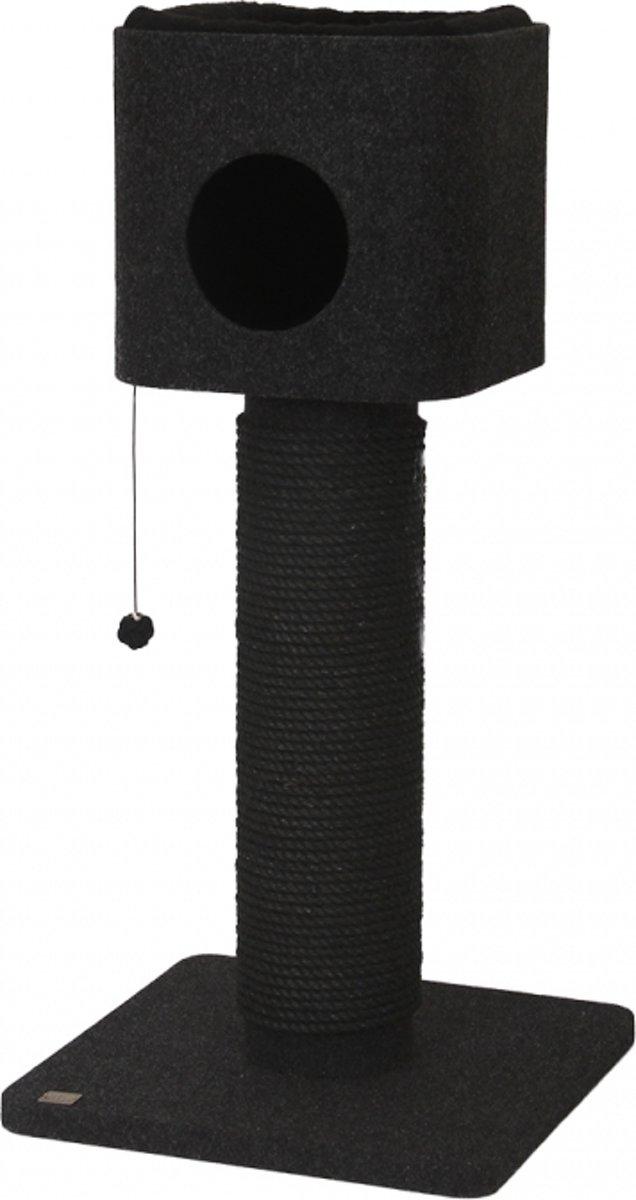 Krabpaal comfort plus agate Antraciet 56x56x116cm
