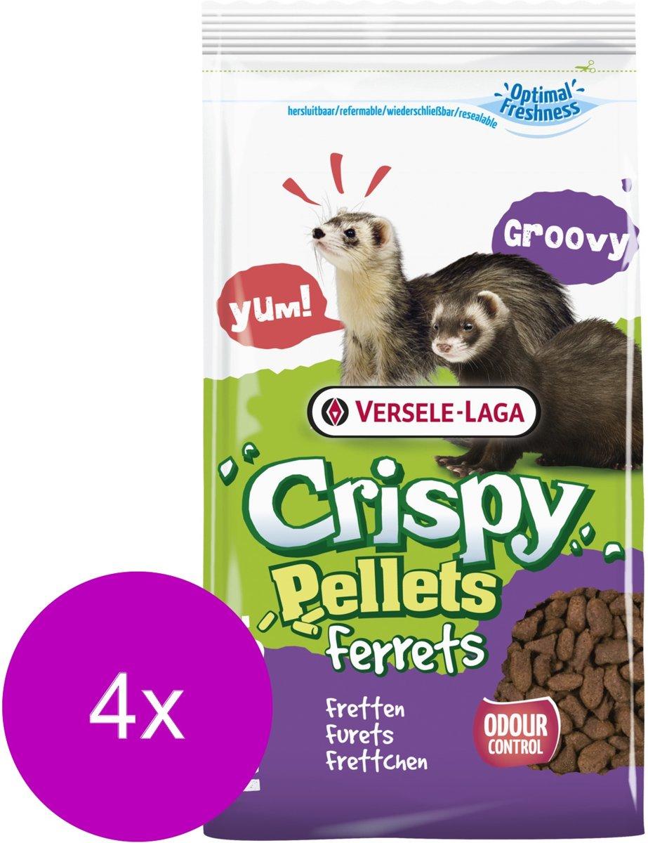 Versele-Laga Crispy Pellets Ferrets - Frettenvoer - 4 x 3 kg