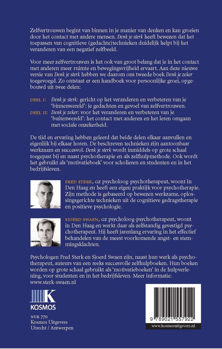 Bedwelming bol.com | Denk je sterk, Fred Sterk | 9789021557922 | Boeken @DM85