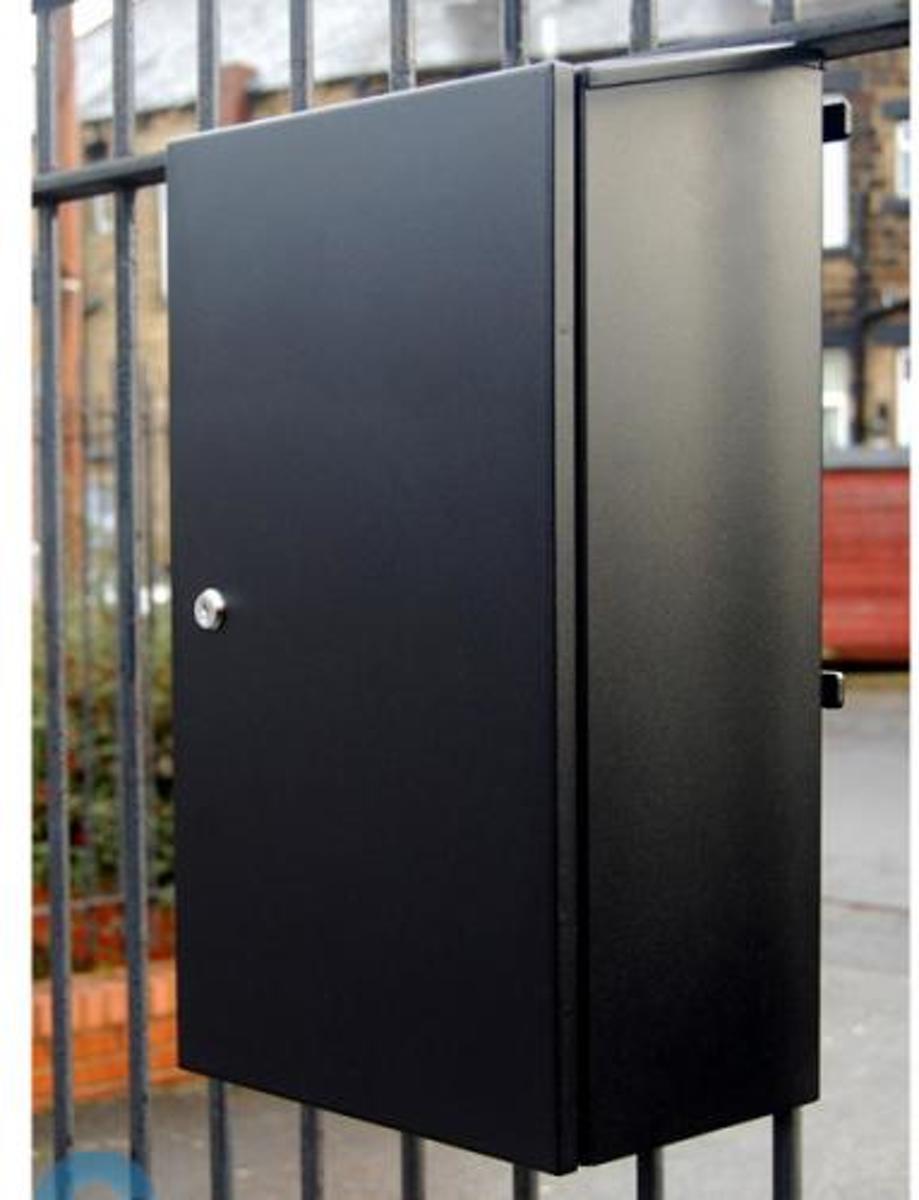 G2 hekbrievenbus - zwart