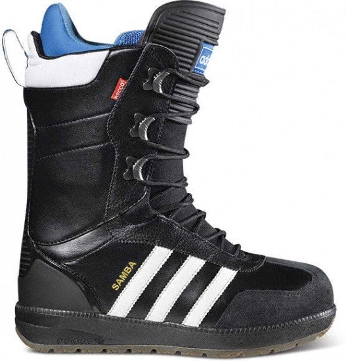 Chaussures De Snowboard Adidas Hommes Samba Vert Synthétique Mt 40 EybCUws