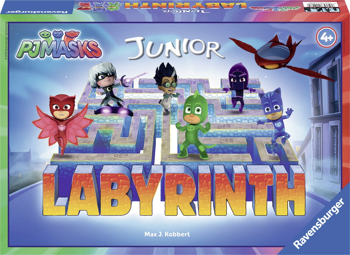 Ravensburger PJ Masks junior Labyrinth - kinderspel