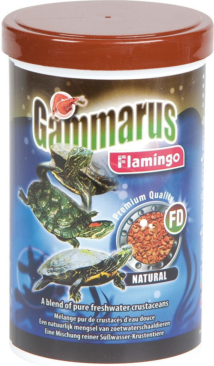 Flamingo Gammarus natuurvoer - 15 x 15 x 13 cm