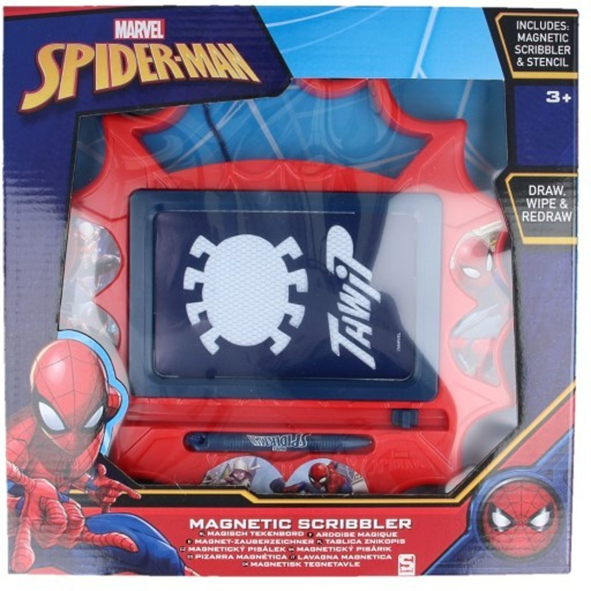 Magnetisch Tekenbord Spiderman