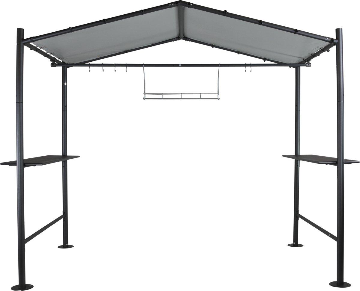 SORARA Barbecue Overkapping - Grijs - 265 x 150 CM
