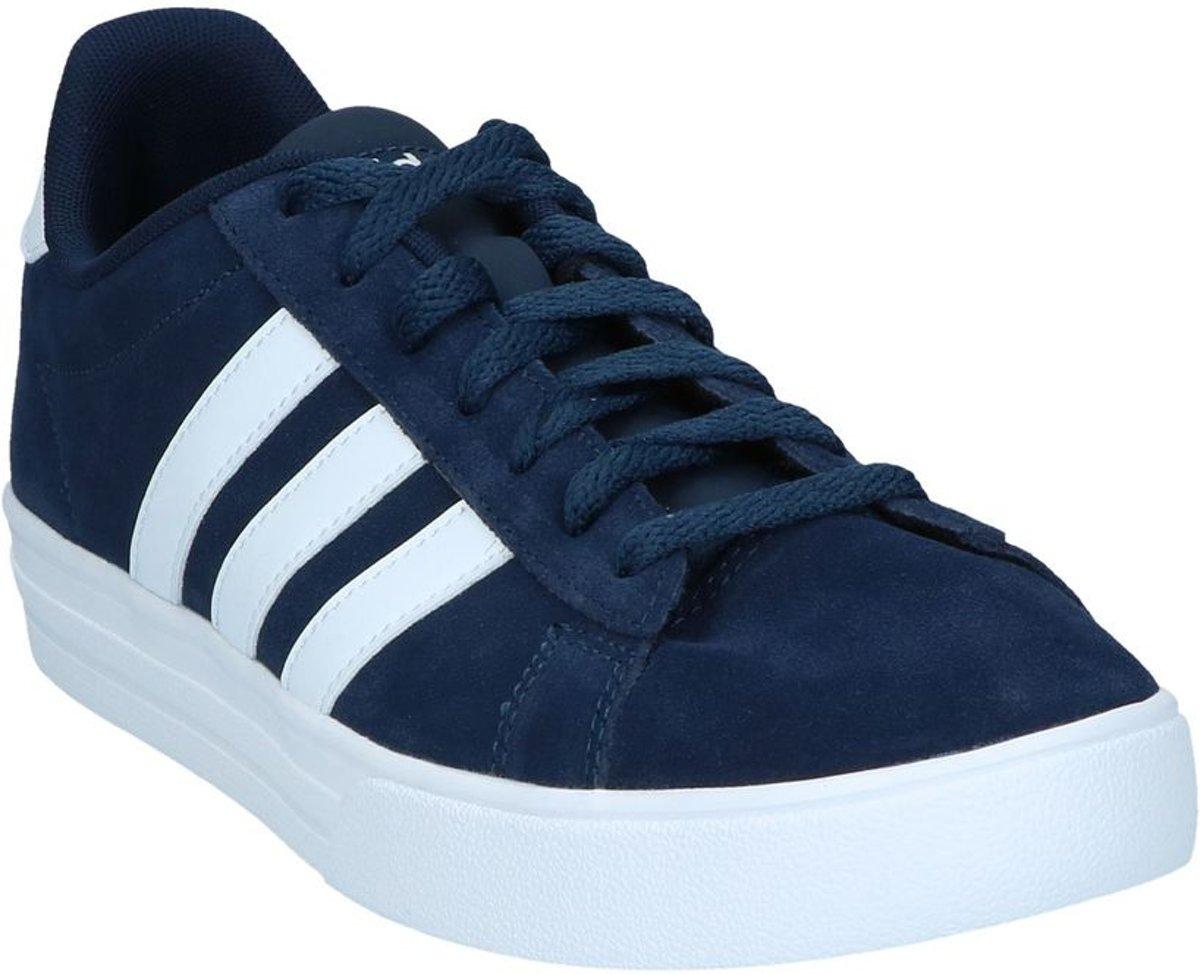 adidas Daily 2.0 Sneaker laag gekleed Heren Maat 40,5 Blauw;Blauwe Collegiate Navy