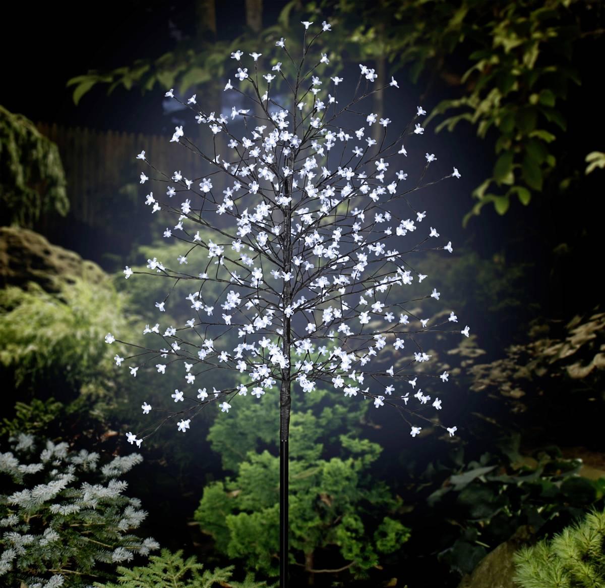 LED-boom Kers bloesems 180 cm Koud-wit Bruin Polarlite PCA-03-003 PCA-03-003 kopen